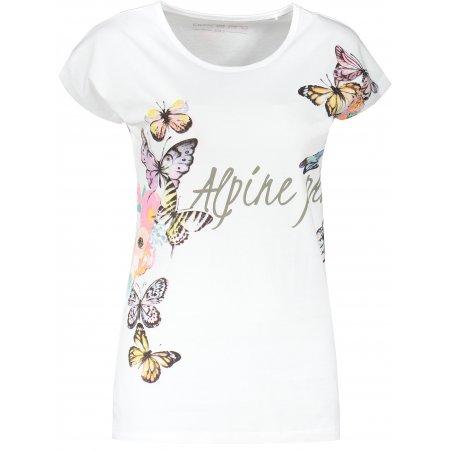 Dámské triko ALPINE PRO RAJANA LTSR673 BÍLÁ