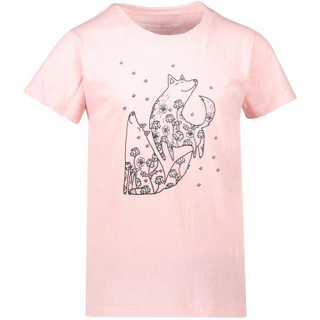 Dívčí triko ALPINE PRO VALIANTO KTSR226 RŮŽOVÁ