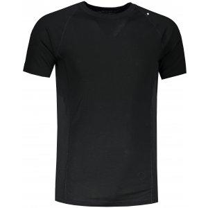 Pánské funkční triko ALPINE PRO MERIN MTSR476 ČERNÁ
