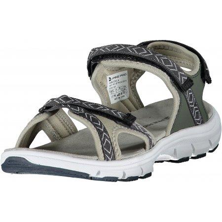 Dámské sandále ALPINE PRO EKLA LBTR261 ZELENÁ