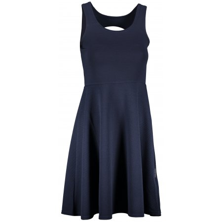 Dámské šaty ALPINE PRO HABENA LSKR206 TMAVĚ MODRÁ