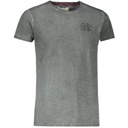 Pánské triko s krátkým rukávem KIXMI JOEL TMAVĚ ŠEDÁ