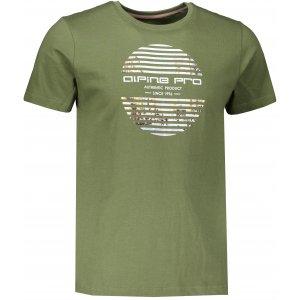 Pánské triko ALPINE PRO DAKER MTSR547 KHAKI