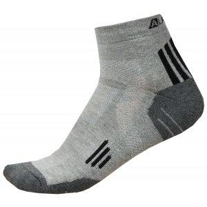 Ponožky ALPINE PRO AXION 3 USCR052 ČERNÁ