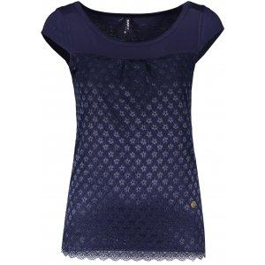 Dámské triko s krátkým rukávem KIXMI JESABEL TMAVĚ MODRÁ
