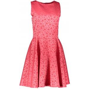 Dámské šaty NUMOCO A125-13 RŮŽOVÁ VZOR