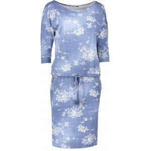 Dámské šaty NUMOCO A13-56 JEANS VZOR