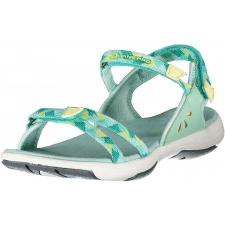 Dámské sandále ALPINE PRO MAGNUSA LBTR233 ZELENÁ