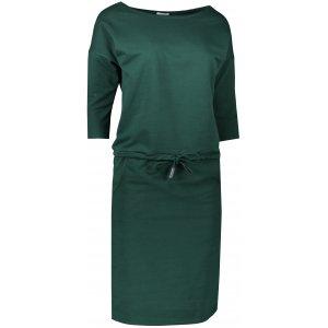 Dámské šaty NUMOCO A13-99 TMAVĚ ZELENÁ