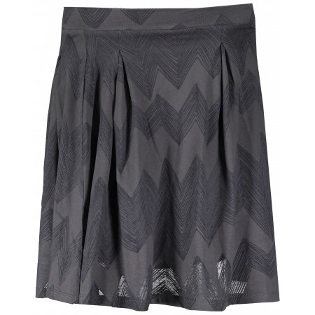 Dámská sukně ALPINE PRO HALLA LSKR209 TMAVĚ ŠEDÁ