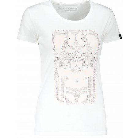 Dámské triko ALPINE PRO STARKA LTSR672 BÍLÁ