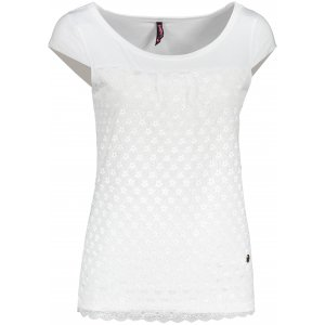 Dámské triko s krátkým rukávem KIXMI JESABEL BÍLÁ