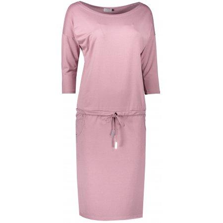 Dámské šaty NUMOCO A13-105 RŮŽOVÁ