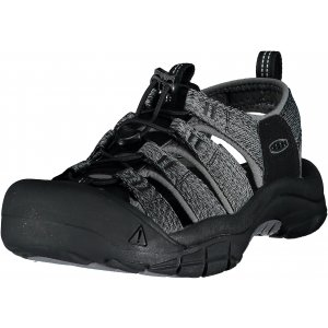 Pánské sandále KEEN NEWPORT H2 M BLACK/STEEL GREY