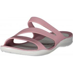 Dámské pantofle CROCS SWIFTWATER SANDAL W 203998-5PH WHITE