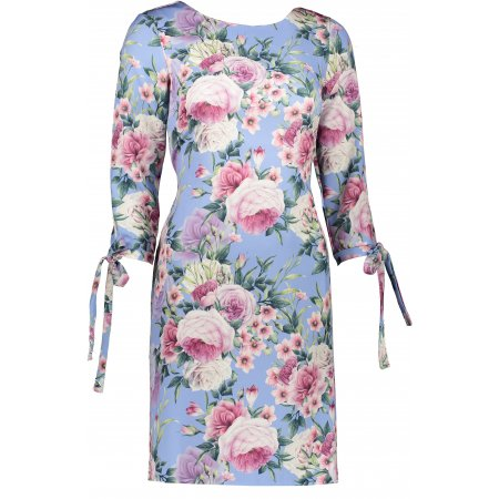 Dámské šaty NUMOCO A195-9 SVĚTLE MODRÁ