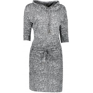 Dámské šaty NUMOCO A44-3 GRAFIT