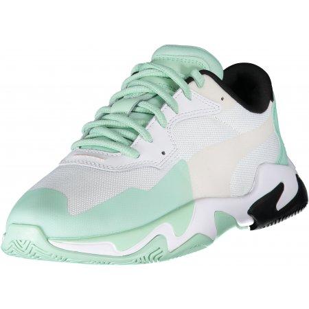Dámské sportovní boty PUMA STORM PLAS TECH WNS 37164201 MIST GREEN/PUMA WHITE