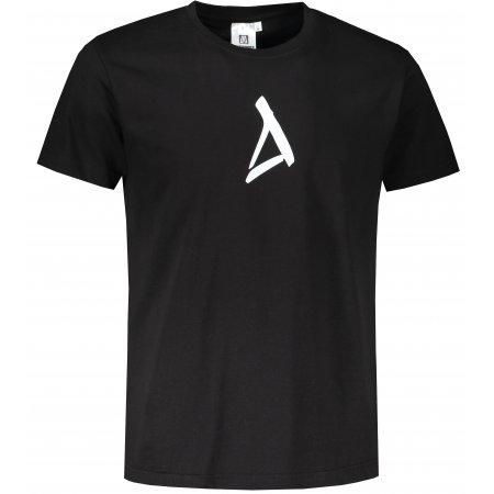 Pánské triko ALTISPORT ALM002129 ČERNÁ
