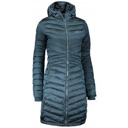 Dámský zimní kabát ALTISPORT ANTONNA LJCS430 TYRKYSOVÁ