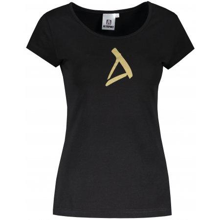 Dámské triko ALTISPORT ALW002122 ČERNÁ