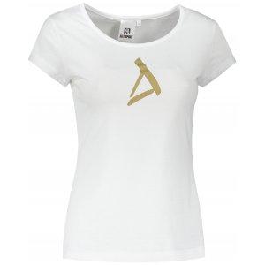 Dámské triko ALTISPORT ALW002122 BÍLÁ