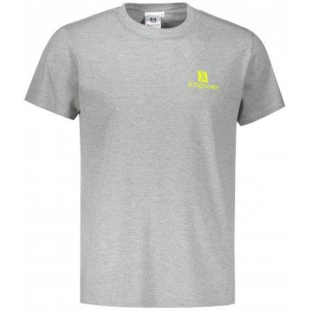 Pánské triko ALTISPORT ALM008129 TMAVĚ ŠEDÝ MELÍR