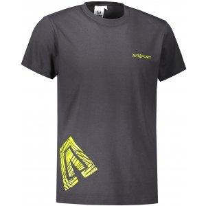 Pánské triko ALTISPORT ALM013129 EBONY GRAY
