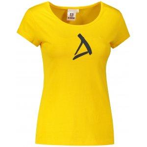 Dámské triko ALTISPORT ALW002122 ŽLUTÁ