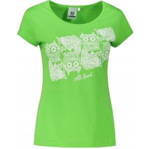 Dámské triko ALTISPORT ALW005122 APPLE GREEN