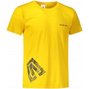 Pánské triko ALTISPORT ALM013129 ŽLUTÁ