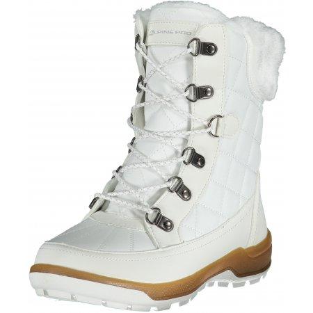 Dámské zimní boty ALPINE PRO GERAINA LBTS281 BÍLÁ
