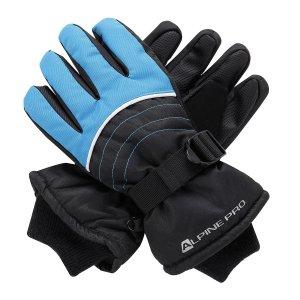 Dětské rukavice ALPINE PRO KORIO KGLS010 MODRÁ