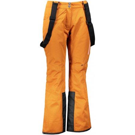 Dámské lyžařské kalhoty ALPINE PRO ANAPA 3 LPAS449 ORANŽOVÁ