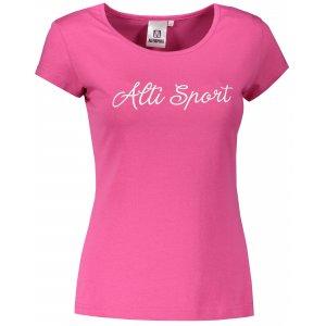 Dámské triko ALTISPORT ALW007122 PURPUROVÁ