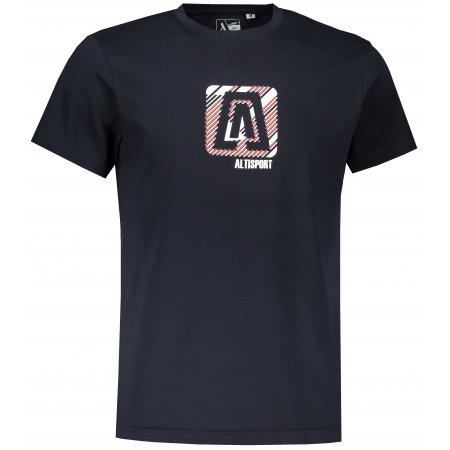 Pánské triko ALTISPORT ALM023F29 NÁMOŘNÍ MODRÁ