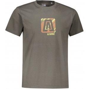 Pánské triko ALTISPORT ALM023F29 TMAVÁ BŘÍDLICE