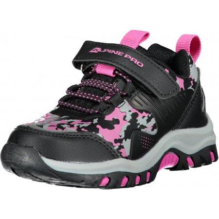 Dětské boty ALPINE PRO BLODO KBTS258 RŮŽOVÁ