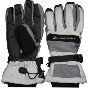 Zimní rukavice ALPINE PRO MIRON UGLS012 ŠEDÁ