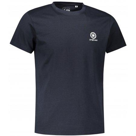 Pánské triko ALTISPORT ALM031F29 NÁMOŘNÍ MODRÁ