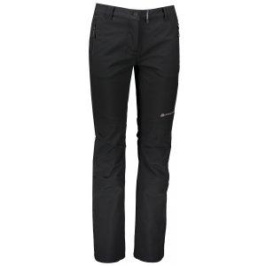 Dámské softshellové kalhoty ALPINE PRO MURIA 3 INS. LPAS340 ČERNÁ