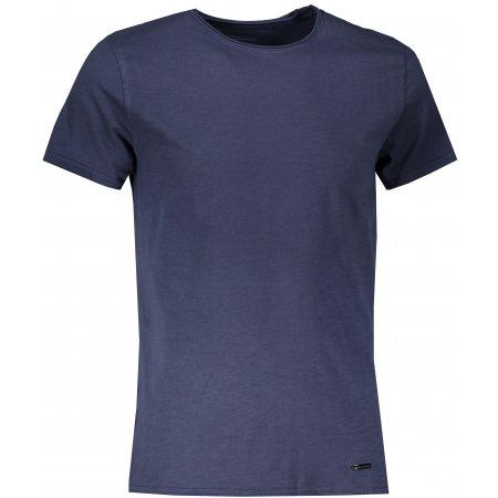 Pánské triko ALPINE PRO DRAN MTST596 TMAVĚ MODRÁ