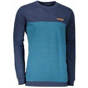 Pánské triko s dlouhým rukávem ALPINE PRO VENDUZ MTSS595 TMAVĚ MODRÁ