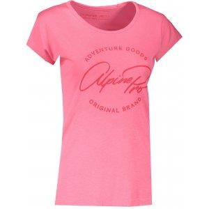Dámské triko ALPINE PRO DAFKA LTSS688 RŮŽOVÁ
