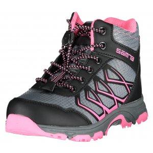 Dětské boty SAM 73 GABURO KBTS264 TMAVĚ RŮŽOVÁ