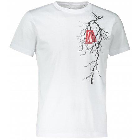 Pánské triko ALTISPORT ALM027F29 BÍLÁ