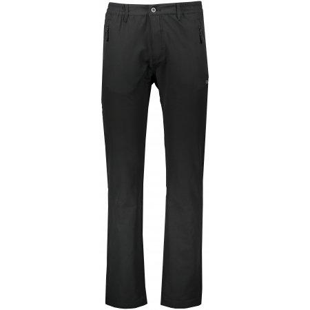 Pánské softshellové kalhoty ALPINE PRO GRENEF MPAS499 ČERNÁ