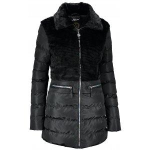 Dámský zimní kabát KIXMI KIMBERLY ČERNÁ