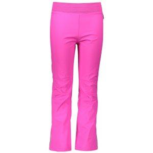 Dětské softshellové kalhoty ALPINE PRO OCIO INS. KPAS072 RŮŽOVÁ