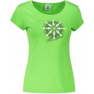 Dámské triko ALTISPORT ALW028122 APPLE GREEN